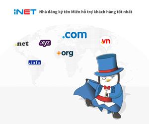 Đăng ký tên miền INET