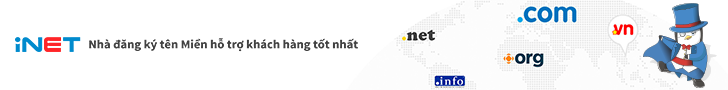 Domain Có Giá Tốt Nhất Hiện Nay Của iNET Việt Nam
